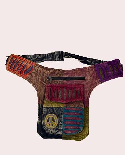 Cotton Bohemian Belt Bags