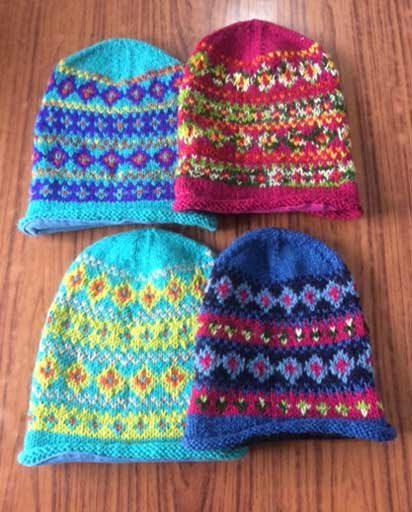 Woolen Handknitted Slouchy Beanies