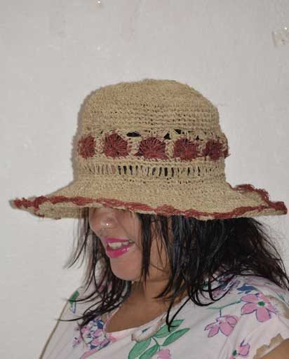Nature Fiber Hemp Hats