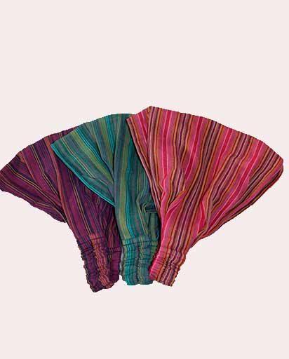 Handmade Stripe Cotton Headbands