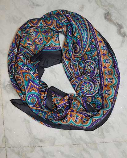 Beautiful Silk Square Scarves