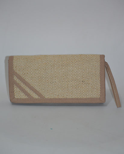 Ladies Hemp Coton Jute Purse