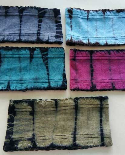 Rib Cotton Tie Dye Headbands