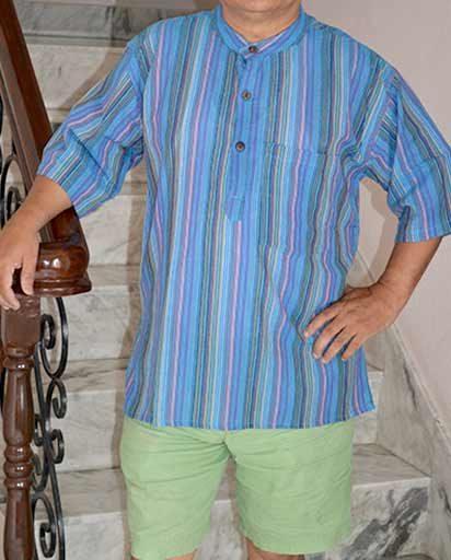 Men Cotton Summer Shirts