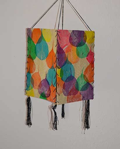 Bodhi Leave Paper Lamp Shade