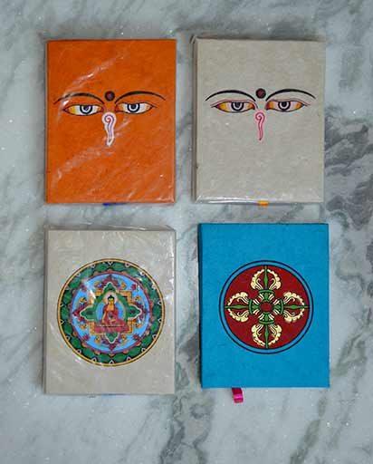 Handmade Lokta Paper Note Books