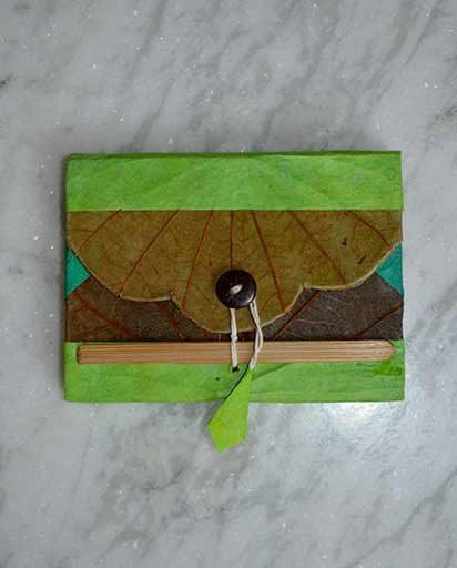 Handmade Organic Lokta Paper Book