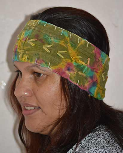 Tie Dyed Handmade Cotton Headbands