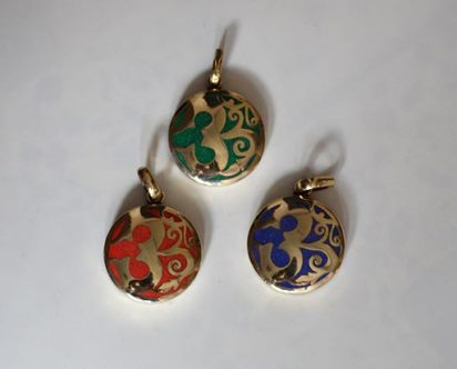 White Metal OM Pendents