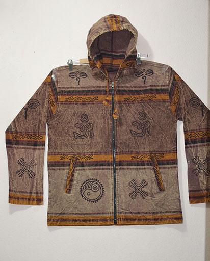 Block Print Shayma Cotton Jackets