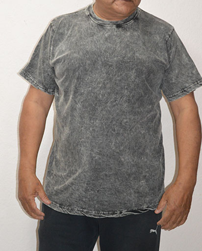 Stonewashed Cotton Tee Shirts