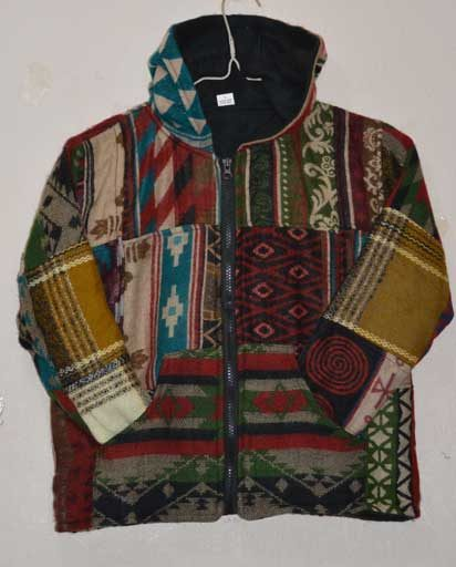 Children's Patchwork Warm Jackets