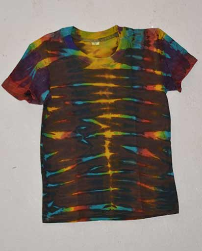 Childrens Tie Dyed Cotton Tee Shirts