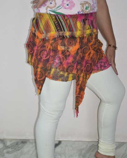 Funky Tie Dyed Cotton Skirts