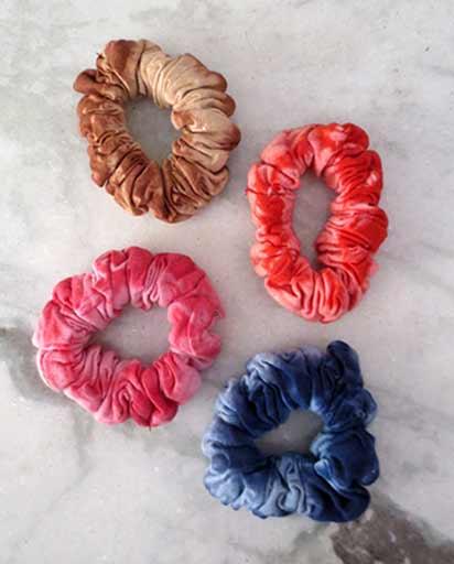 Handmade Sinker Cotton Hair Ties  1ae13e732a8