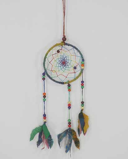 Handmade Hemp Silk Dream Catcher
