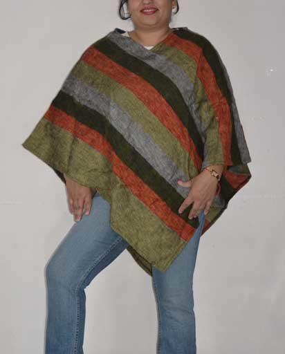 Nepalese Warm Woolen Ponchos