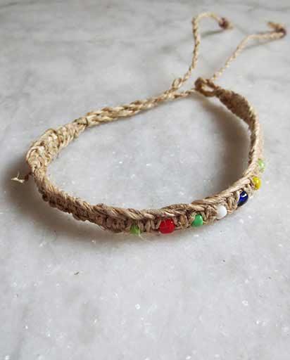 Handwoven Nepal Hemp Bracelets
