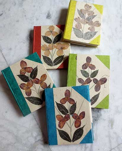 Organic Handmade Lokta Note Books