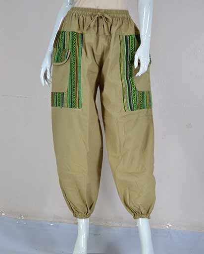 Baggy Style Cotton Trousers
