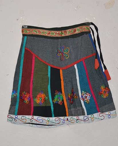 Childrens Patchwork Cotton Skirts