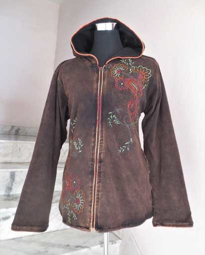 Stonewashed Sinker Cotton Jacket