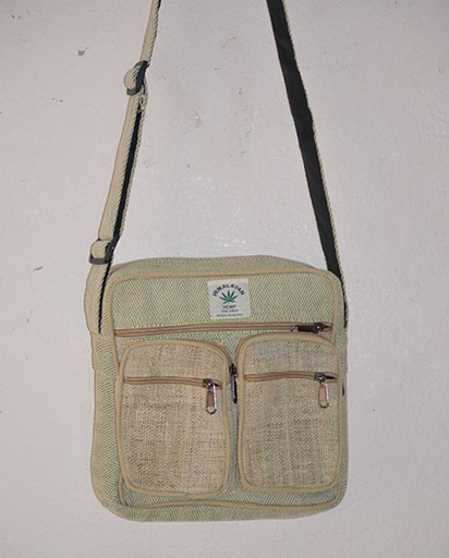 Two Hemp Pocket Bag