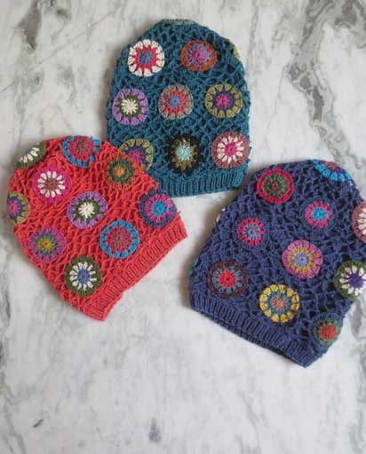 Handmade Cotton Crochet Beanies