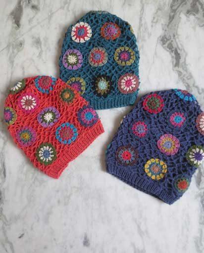Handmade Cotton Crochet Beanies