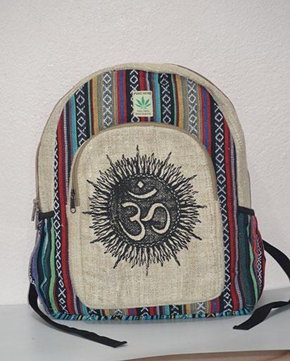 OM Hemp Cotton Backpacks