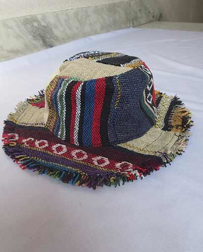Childrens Mix Hemp Patch Hat