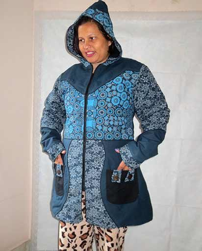 Fleace Lined Thick Coat