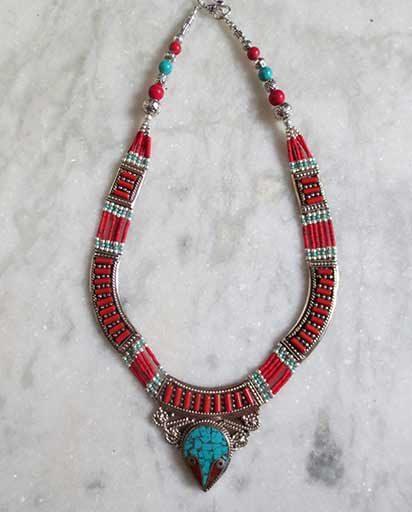 Nepalese Ethnic Handmade Necklace