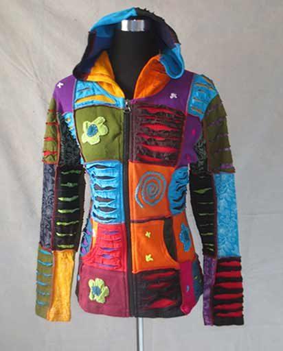 Handmade Cotton Patch Jackets