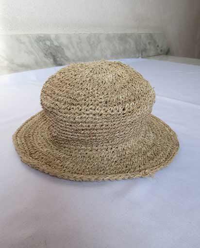 Childrens Handwoven Hemp Hats