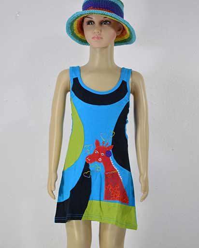 Childrens Cotton Strap Dresses