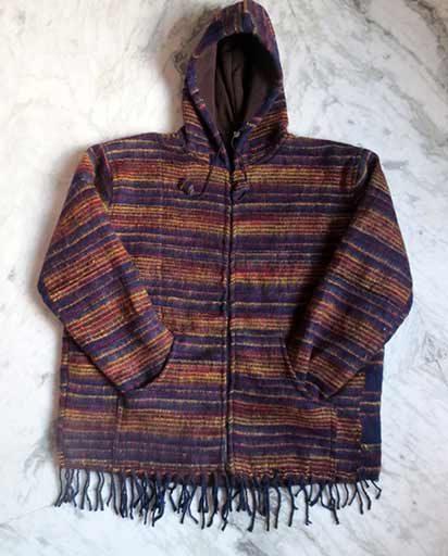 Warm Woolen Shawl Jackets