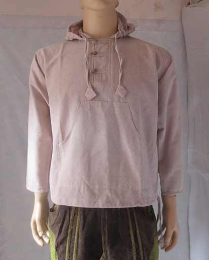Cotton Hooded Kurtha