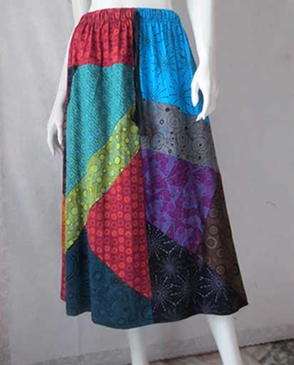 Cotton Patch Long Skirts