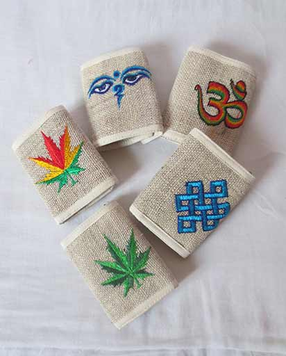 Handmade Hemp Wallets