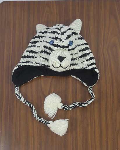 Kids Woolen Animal Caps