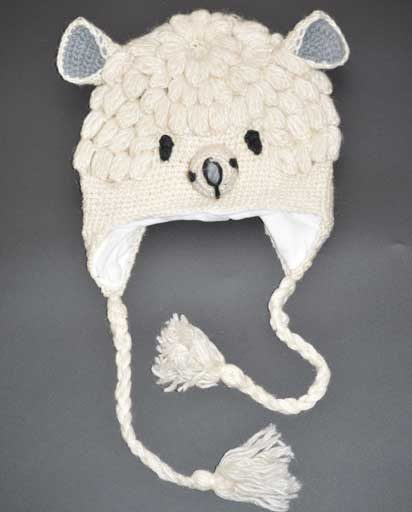 Children's Animal Woolen Hats
