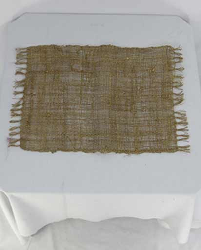 Handwoven Hemp Dinner Mats