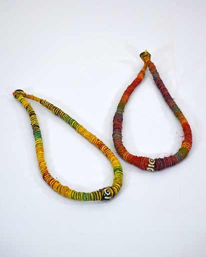 Multicolor Hemp Necklace