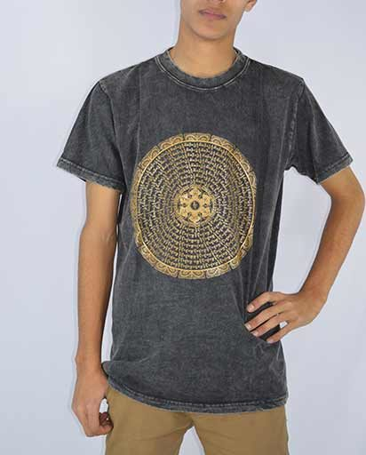 Mantra Print Cotton Tee Shirts
