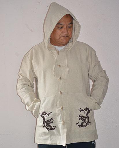 Two Dragon Cotton Kurtha