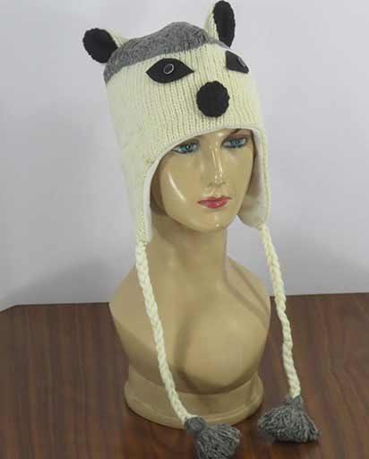 Adult Woolen Animal Hats