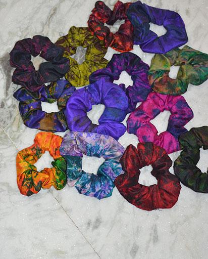 Handmade Silk Scrunchies