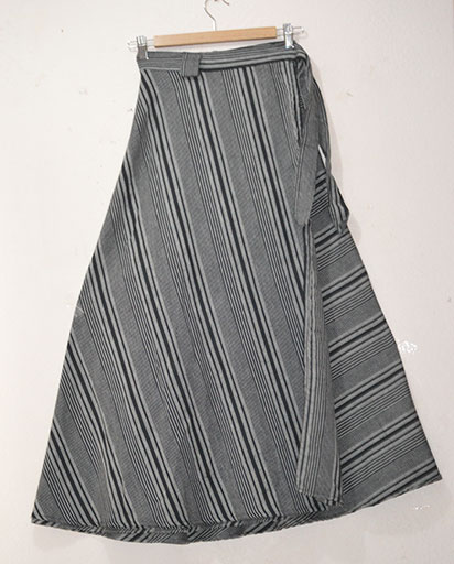 Long Cotton Wrap Skirts