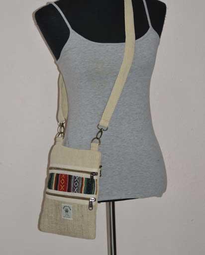 Small Hemp Cotton Bags